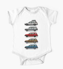 Stack Of Toyota Tercel Sr5 4wd Al25 Wagons Kids Clothes