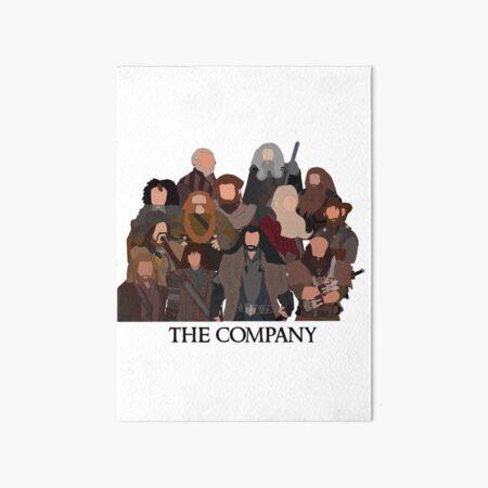 The company Art Board Print