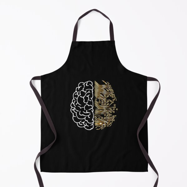 Machine Learning Shirt - Deep Learning and AI Apron