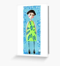 Gracie Greeting Card