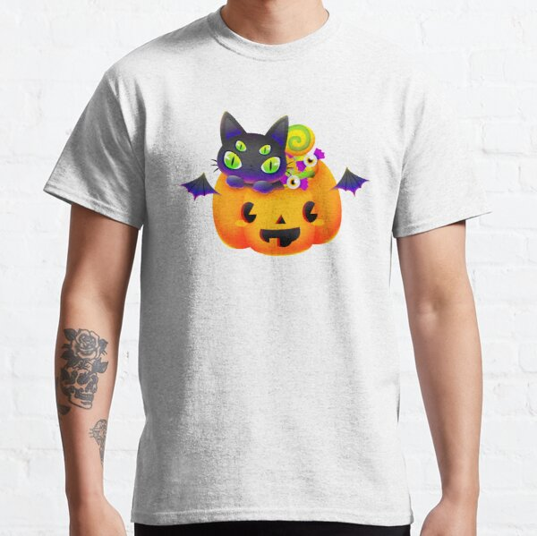 Trick-or-Treat Cat Classic T-Shirt