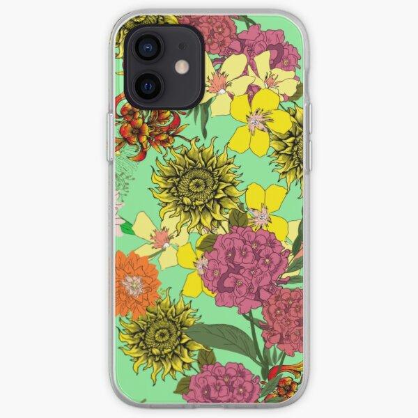 Beautiful Floral design iPhone Soft Case