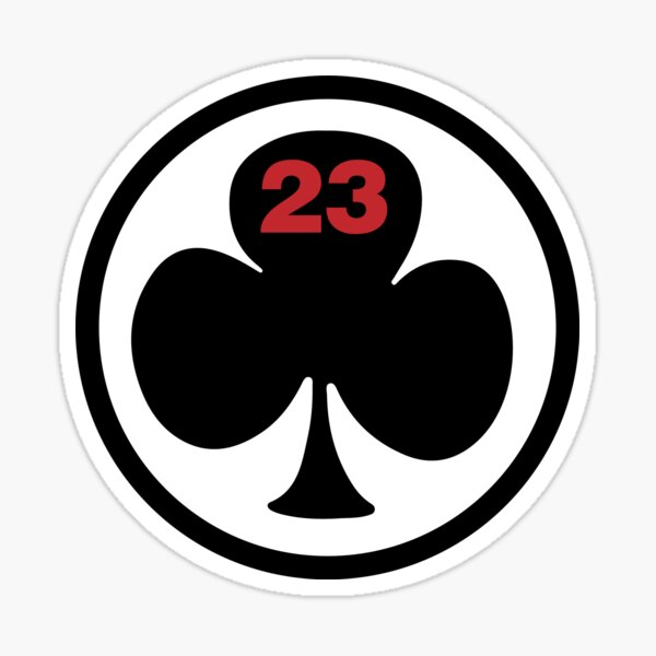 23 club Sticker