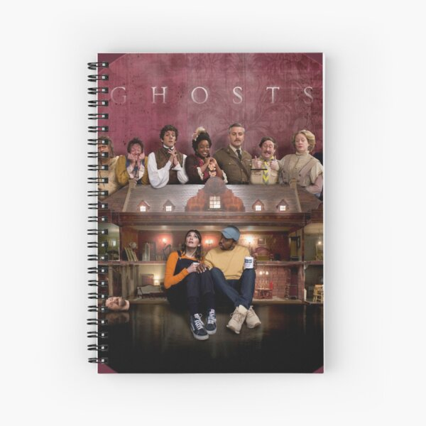 The cast of ghosts Spiral Notebook