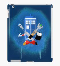 DOCTOR WHO - SPRAY PAINT DESIGN iPad Case/Skin