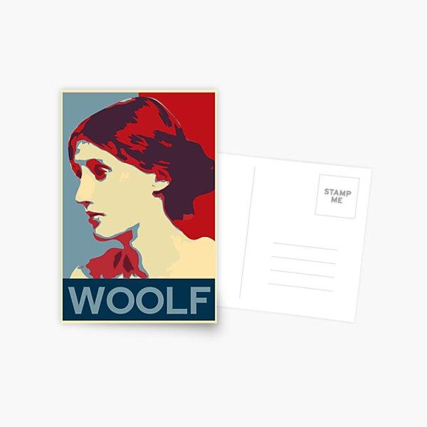 Virginia Woolf poster Postcard