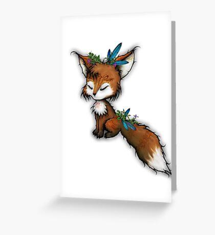 Spirit Fox - Totem Animal  Greeting Card