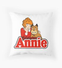 Little Orphan Annie Throw Pillow