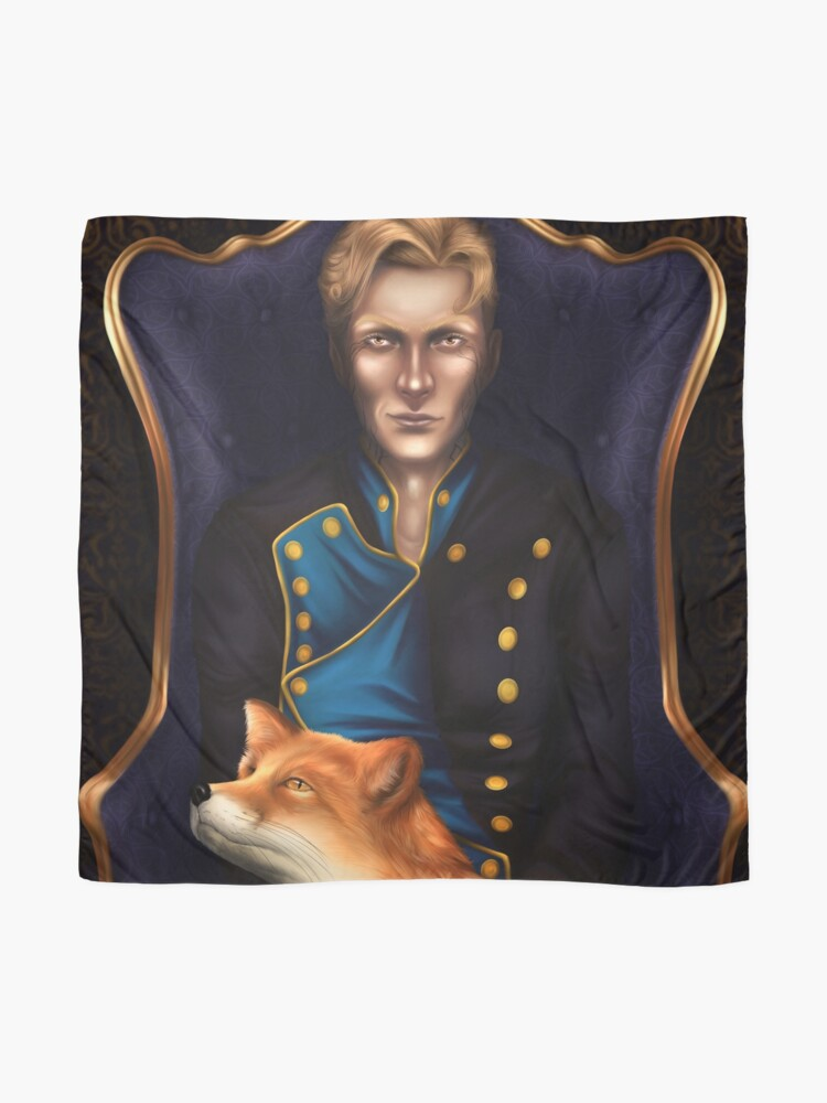 Alternate view of The-Too-Clever-Fox Scarf