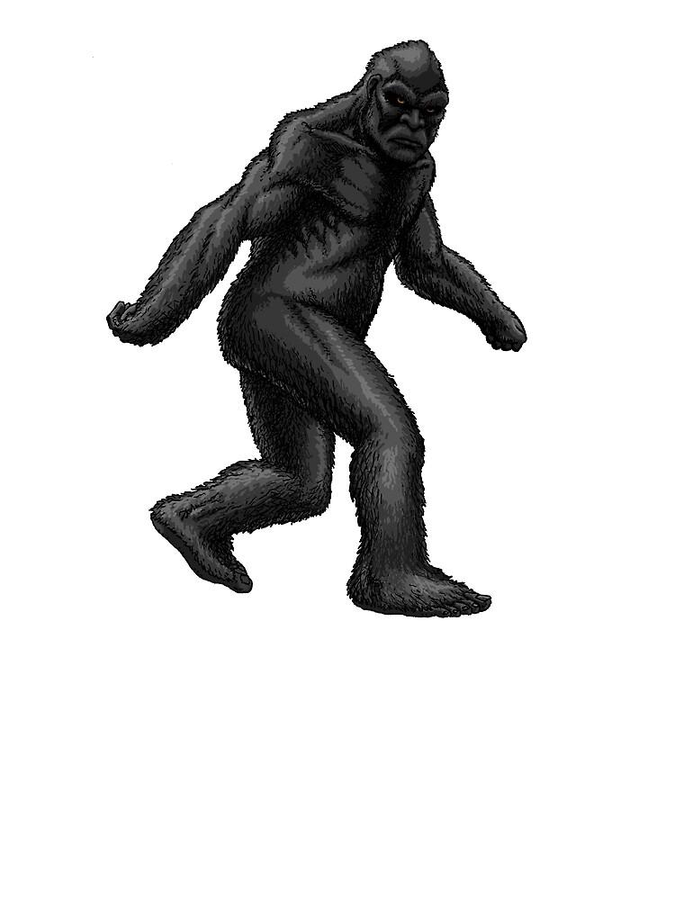 Reclusive Bigfoot by Ninjangulo