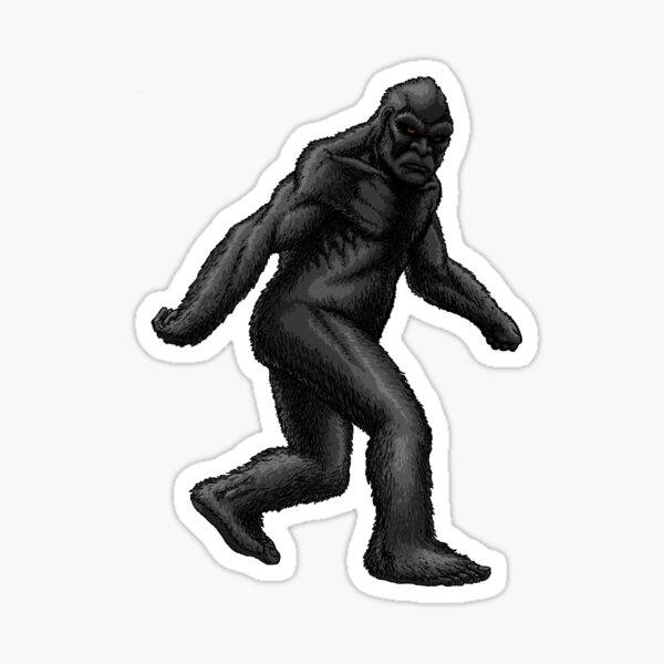 Reclusive Bigfoot Sticker