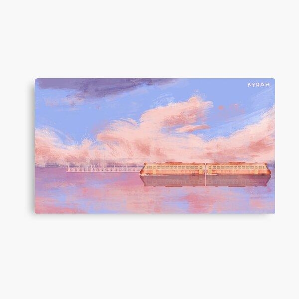 Gare de Spirited Away Impression sur toile