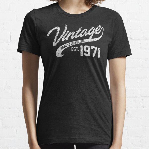 Vintage hecho en 1971 47th Camiseta esencial