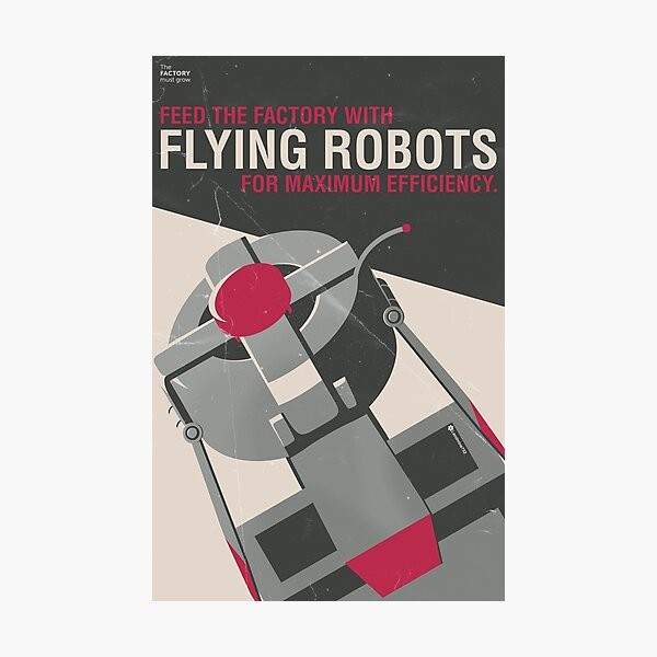 Flying Robots for Efficiency Photographic Print