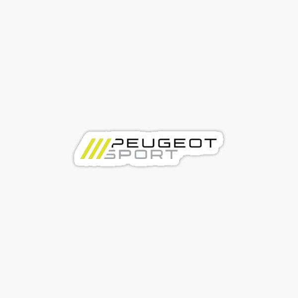 Peugeot Sport Engineered Sticker