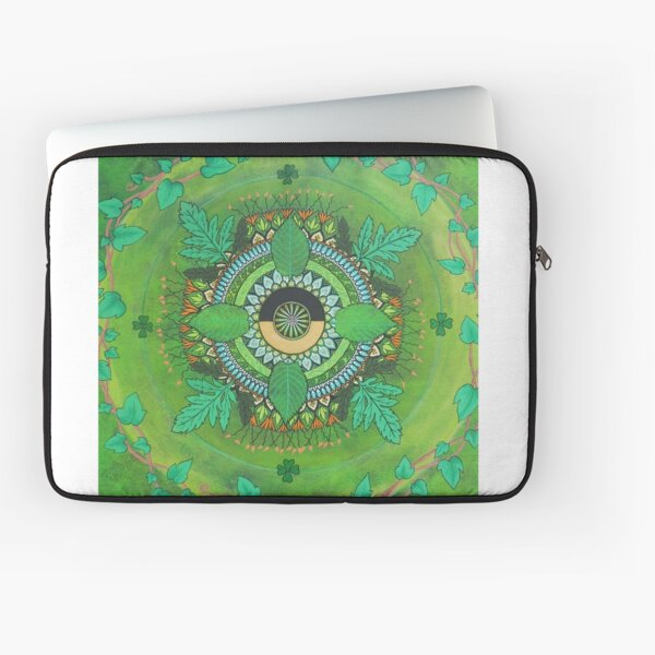 Intuitive Mandala Laptop Sleeve