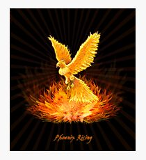 Phoenix Rising Photographic Print