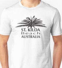 St.Kilda Beach Australia 3 Slim Fit T-Shirt