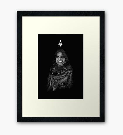 Kalpana Chawla Framed Print