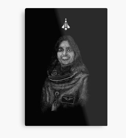 Kalpana Chawla Metal Print