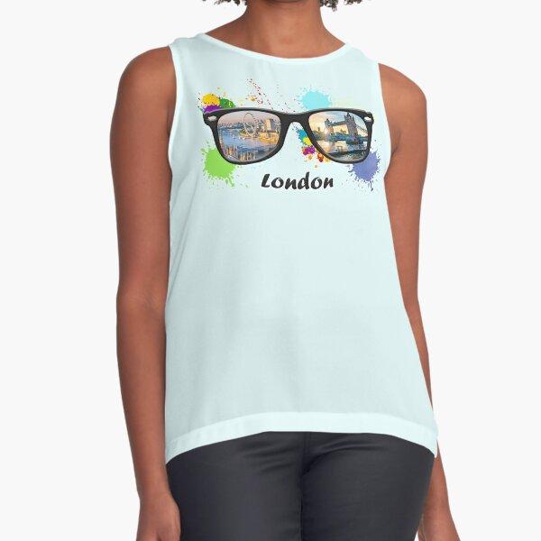 See the world LONDON Sleeveless Top