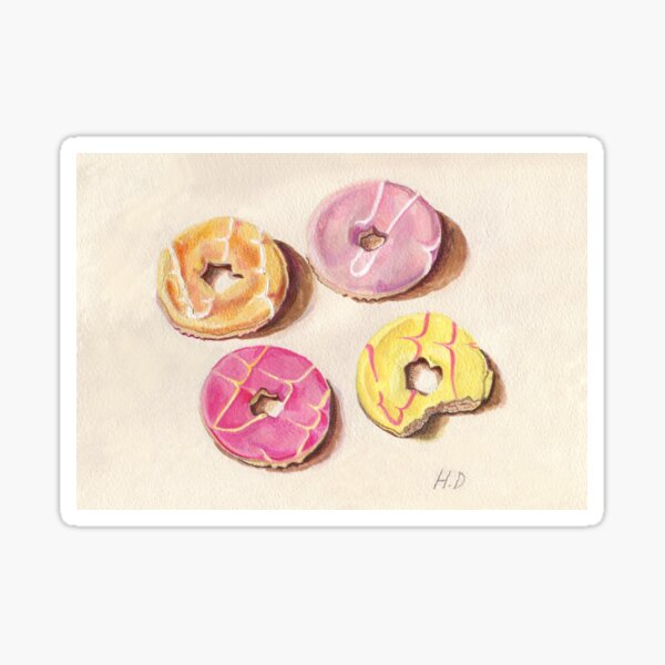 Party Rings Sticker