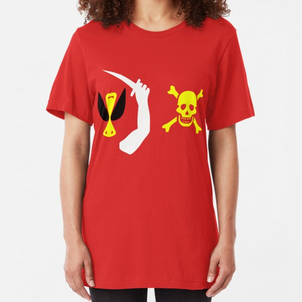 Christopher Moody Pirate Flag Slim Fit T-Shirt