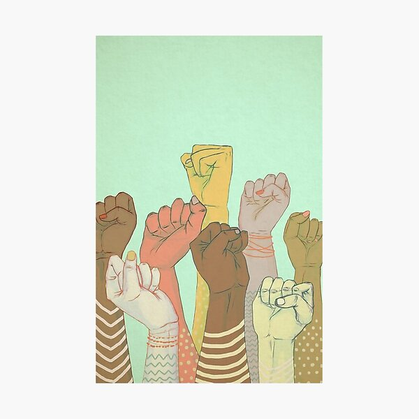 together Poster Photographic Print