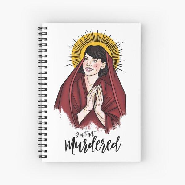 MFM - Don't Get Murdered - Georgia Spiral Notebook