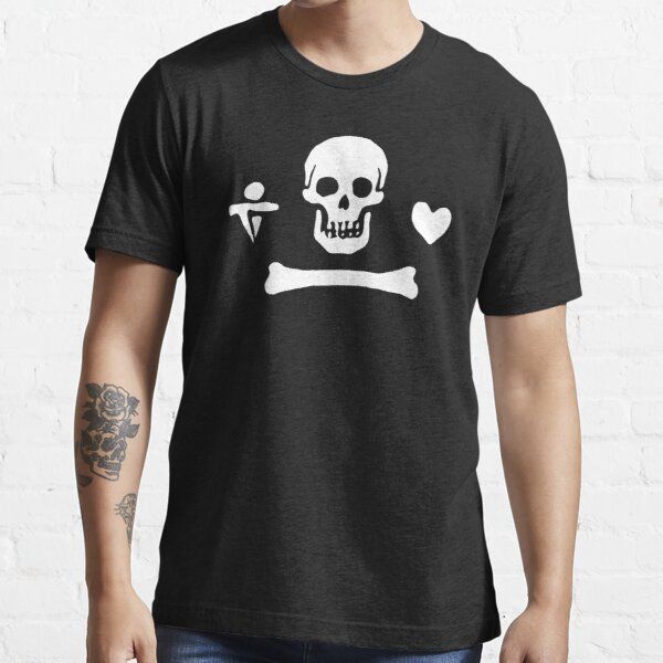 Stede Bonnet Pirate Flag Essential T-Shirt