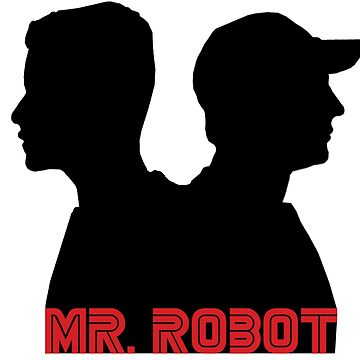 Mr. Robot silhouettes by sapphirekisses