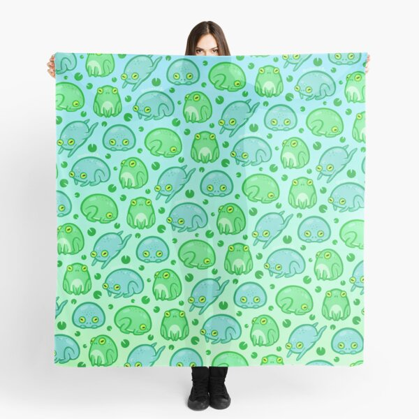Friendly Frogs Scarf