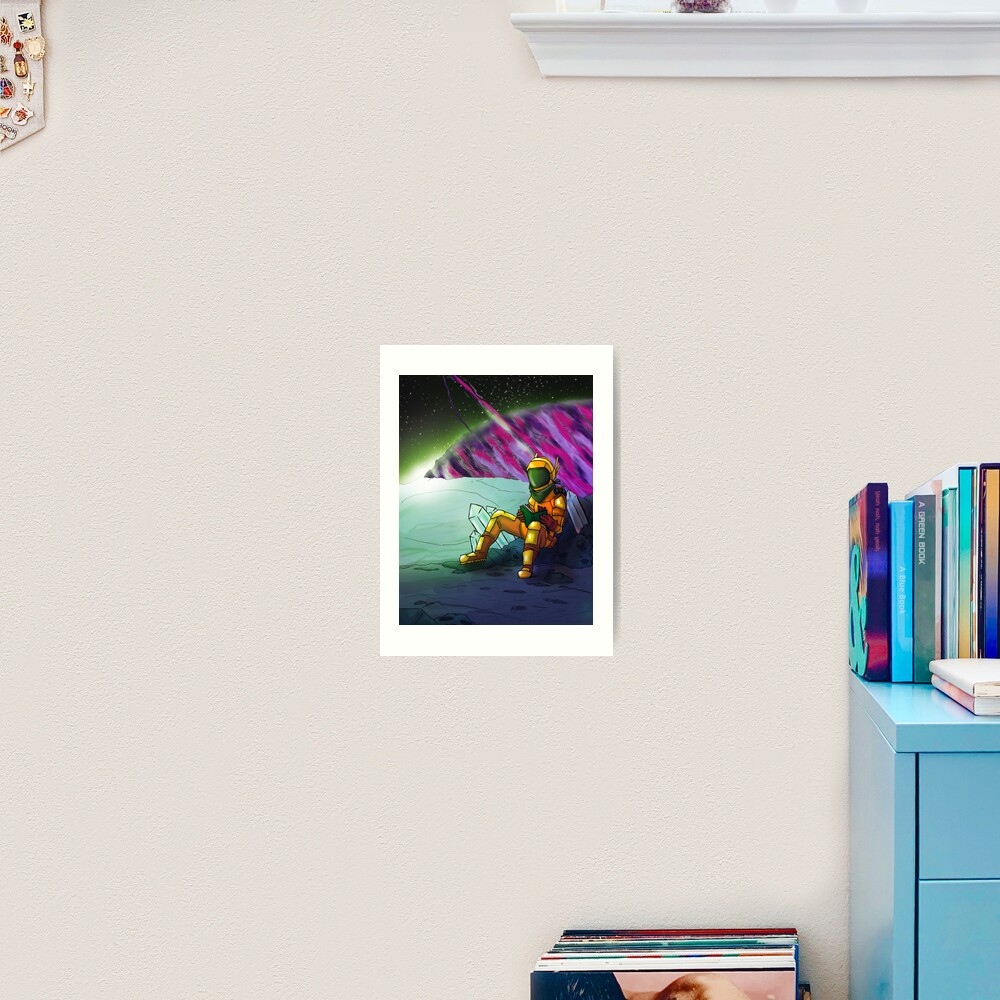 Space Read Art Print