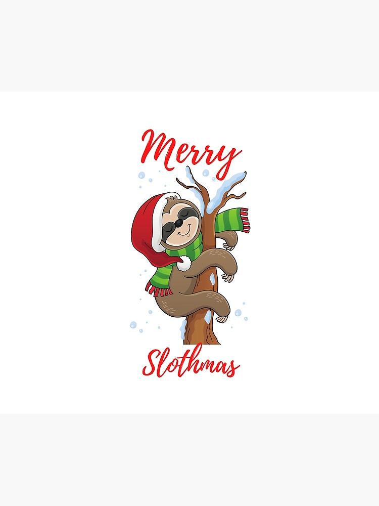 Merry Slothmas by kgerstorff
