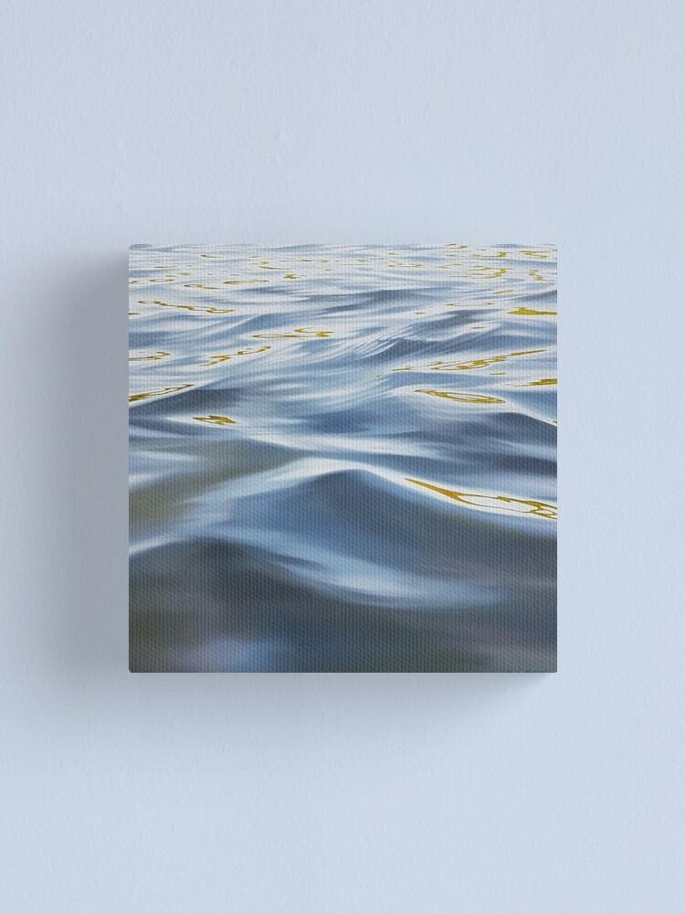 Alternate view of Tendency - water painting Canvas Print