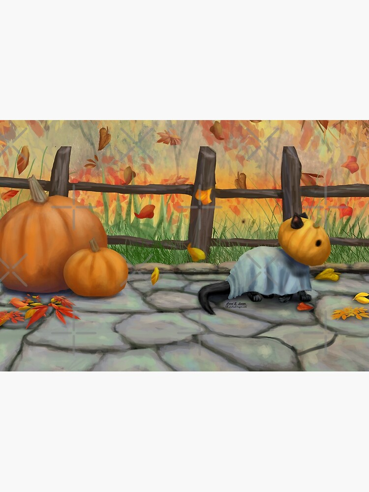 Halloween Cat by leever