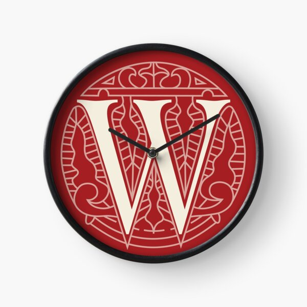WesterosCraft Circle Logo Red Clock
