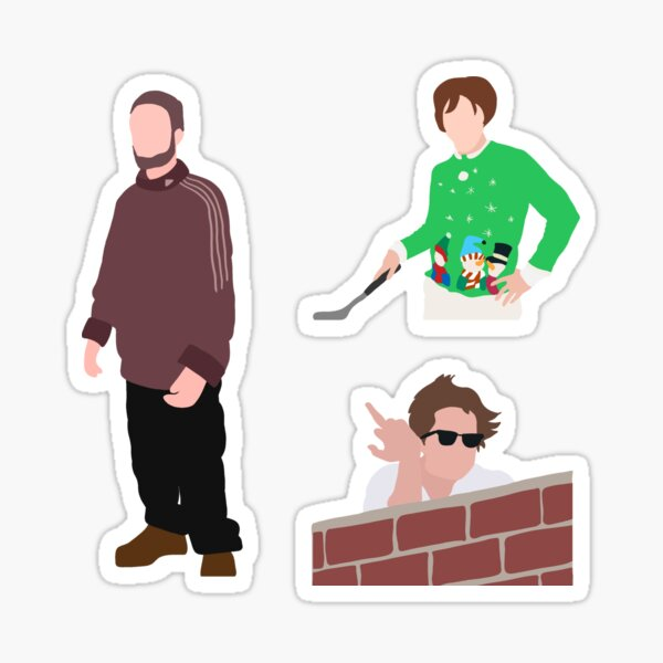 Rob Cursed Pictures Sticker Pack Sticker
