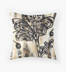 The Leftover Landscape 1 Throw Pillow