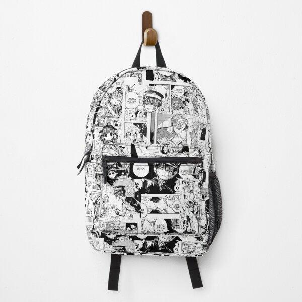 Toilet-bound Hanako-kun manga collage Backpack