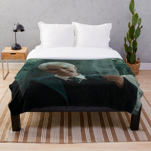 draco malfoy blanket / stickers Throw Blanket