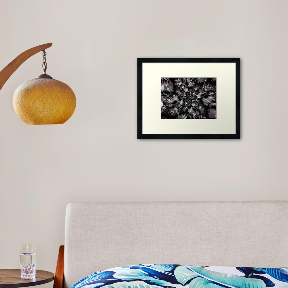 Shattered Glass Framed Art Print