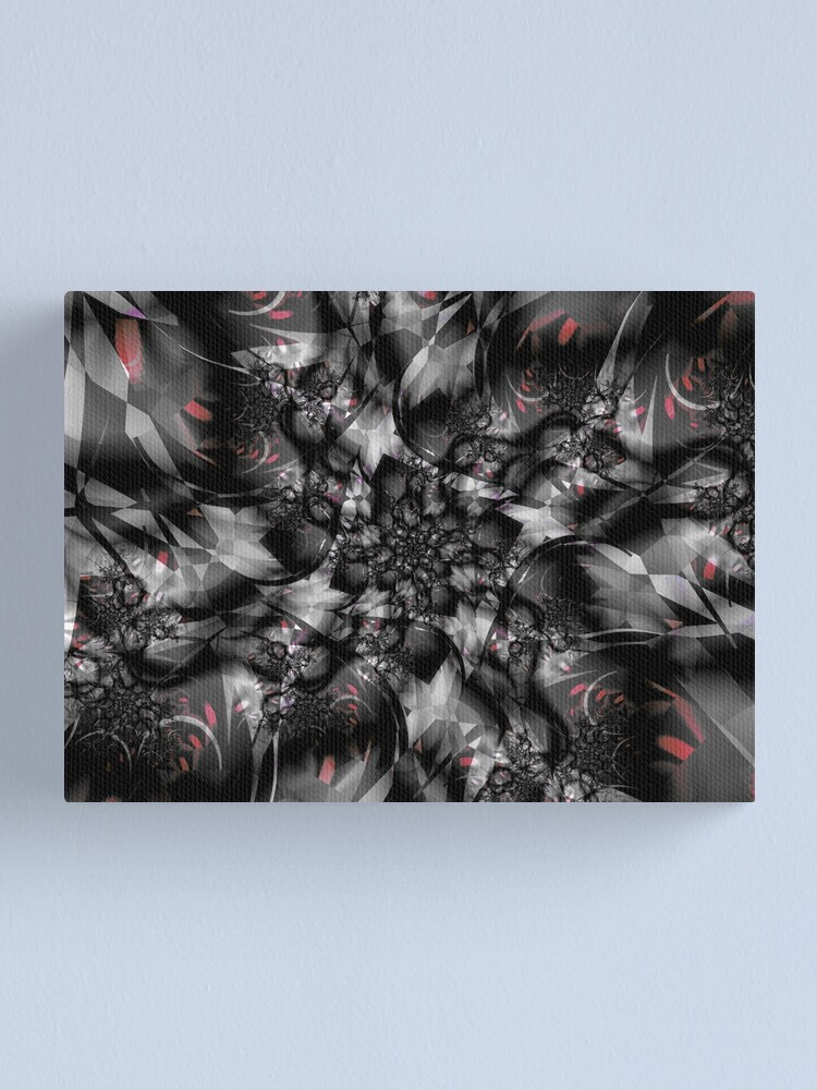 Alternate view of Shattered Glass Canvas Print