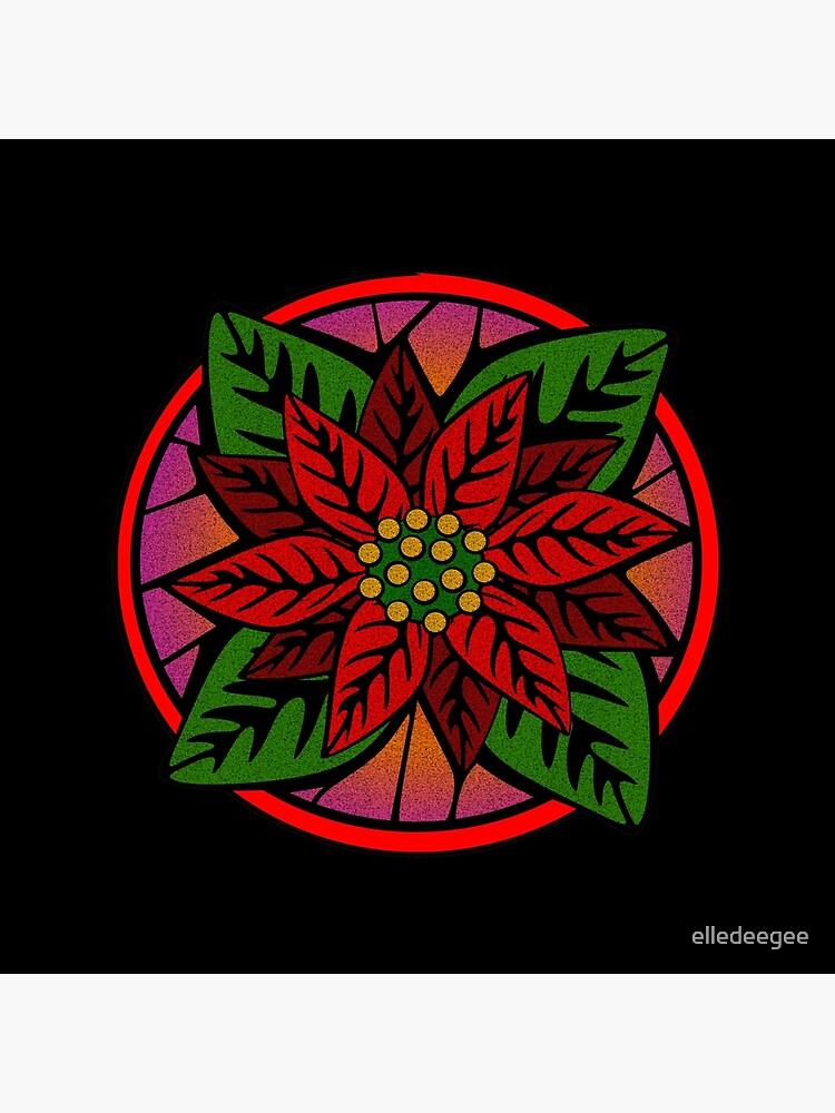 Poinsettia Flower by elledeegee