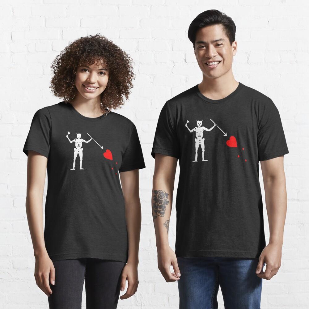 Edward Teach Pirate Flag Essential T-Shirt