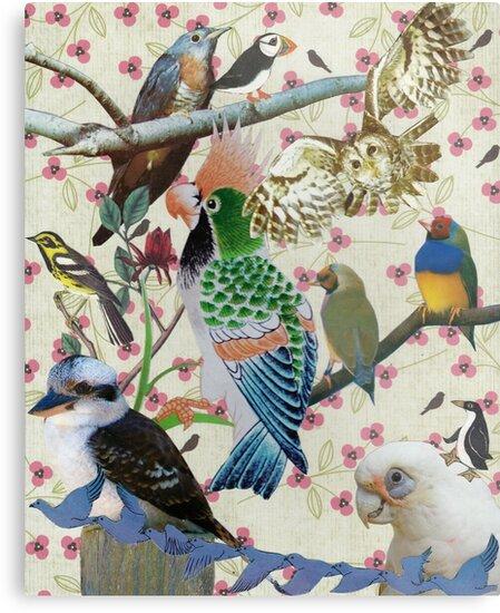 Pretty Birdies by kewzoo