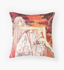 Chobits - Chi Twilight Throw Pillow