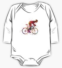 cyclist road bicycle One Piece - Long Sleeve