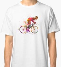 cyclist road bicycle Classic T-Shirt