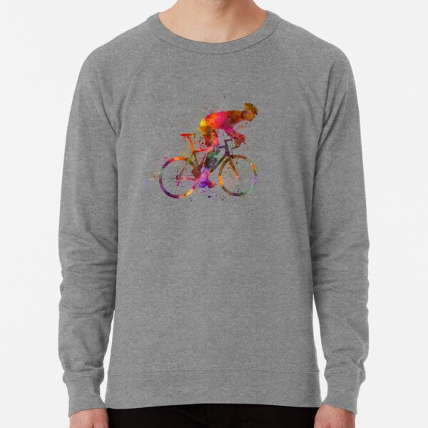 cyclist road bicycle Lightweight Sweatshirt